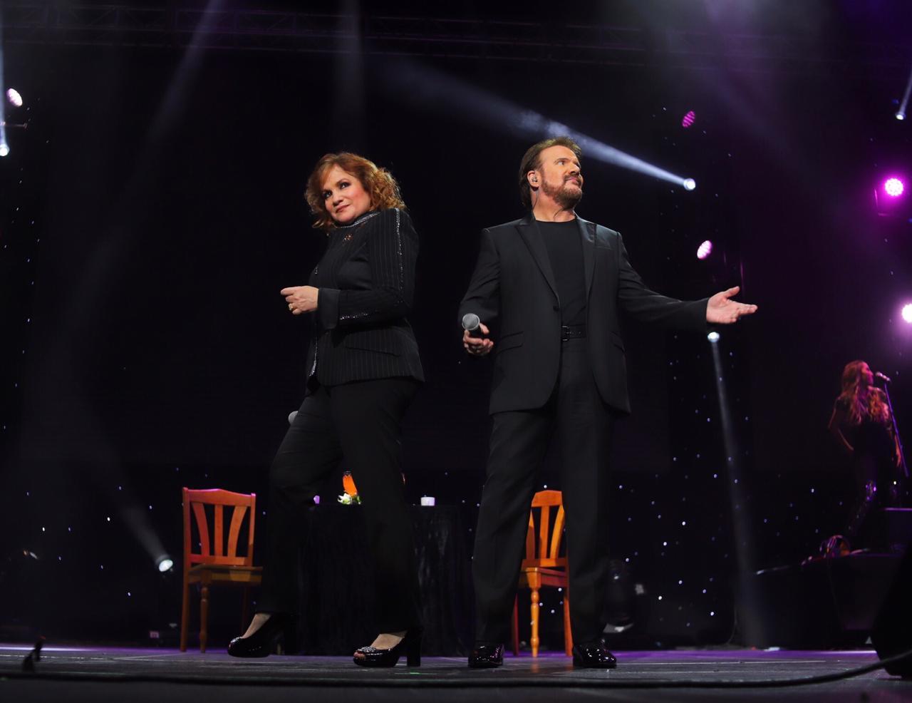 Pimpinela inició su gira en el Auditorio Citibanamex   Así